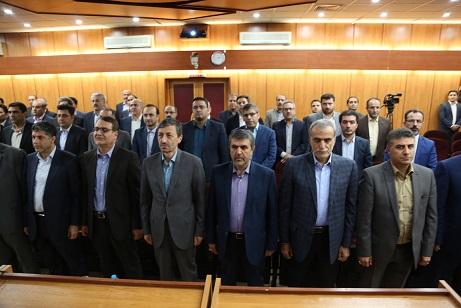 با حضور رییس بنیاد مستضعفان انقلاب اسلامی؛ مدیرعامل جدید بانک سینا معرفی شد